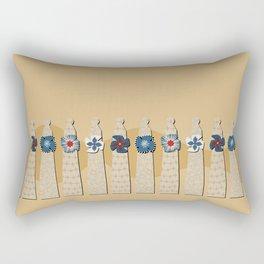 Gaudi Chimneys Rectangular Pillow