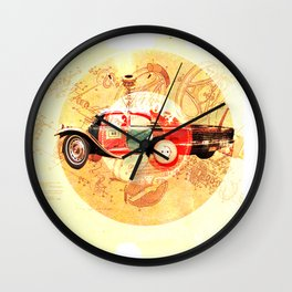 Too Bad · Monolithic Baby Wall Clock