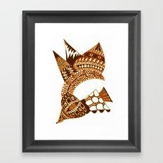 Sea Shell Creature 2 Framed Art Print