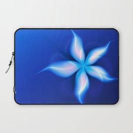 La Fleur Magique de la Sorcière Fractal Laptop Sleeve