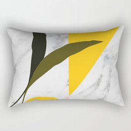 Tropical Marble Rectangular Pillow
