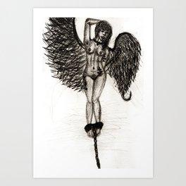 Bird Set Free Pencil Art Print