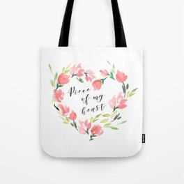 Piece of my heart Tote Bag