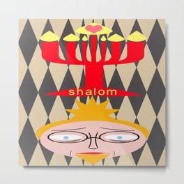 bbnyc: shalom with love Metal Print