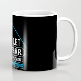 Pole Vault Gift: Don't let the fear of falling Coffee Mug
