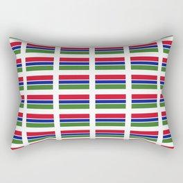 flag of Gambia – Gambian,Gambiano,senegambia,Banjul, serekunda. Rectangular Pillow
