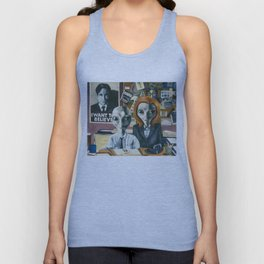 X-Files - Agent Grey Unisex Tank Top