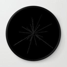 The Pulsar Map Wall Clock