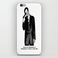 tarantino iPhone & iPod Skins featuring TARANTINO by Rocky Rock