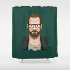 Goodbye, Walt Shower Curtain