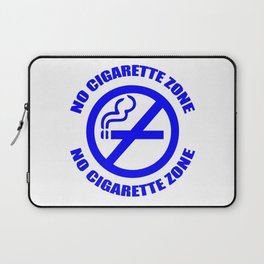 Anti-Cigarette (BLUE) Laptop Sleeve