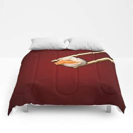 Sushi in red Comforters