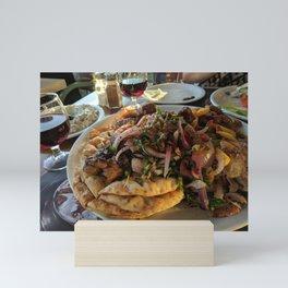 Beautiful Dish   Food   Colorful  Mini Art Print