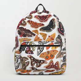 Saturniid Moths of North America Pattern Backpack
