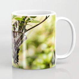 Butterfly on an Azalea Coffee Mug