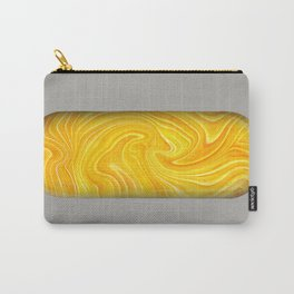Yellow Agate Mineral Carry-All Pouch