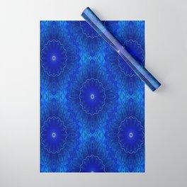 Les fleurs sont bleues Wrapping Paper