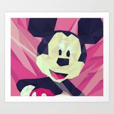Mickey. Art Print