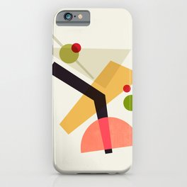 Cocktail IV Martini iPhone Case