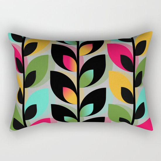 Joyful Plants III Rectangular Pillow