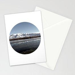 Frozen Lake Stationery Cards