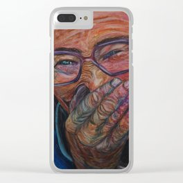 Simple joy Clear iPhone Case