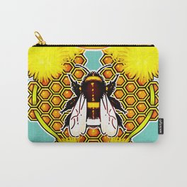 Bumblebee Queen Carry-All Pouch