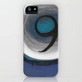 Sapphire Nine iPhone Case
