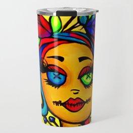 Voodoo diva art Travel Mug