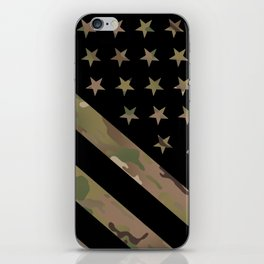 U.S. Flag: Military Camouflage iPhone Skin
