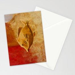 intermediate world - autumn Stationery Cards
