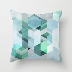 Nordic Combination 22 Throw Pillow
