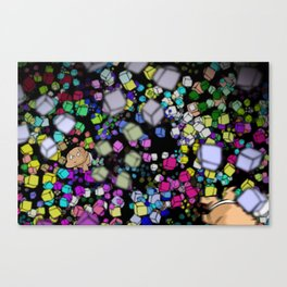 TURBO wandering Canvas Print