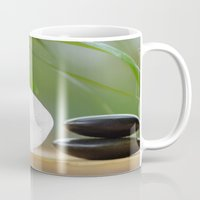 relax Mugs featuring Relax by Tanja Riedel