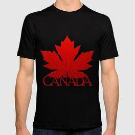Canada Souvenir Red Maple Leaf T-shirt