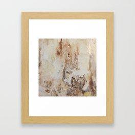 Balance Abstract Framed Art Print