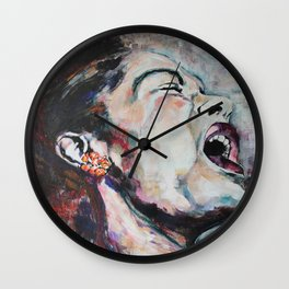 The Meaning of the Blues Wall Clock
