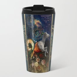 Zodiac : Capricorn Travel Mug