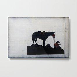 Cowpoke Metal Print