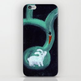 Mysterious Carrot iPhone Skin