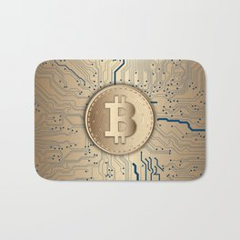 Bitcoin Miner Bath Mat