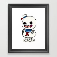 Stay Puft Framed Art Print