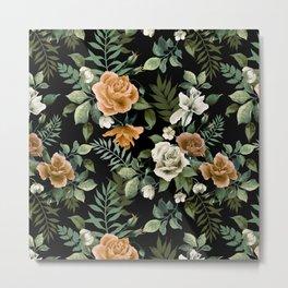 Rose pattern 2 Metal Print