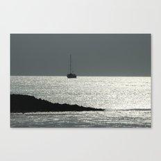 The crystal ship Canvas Print