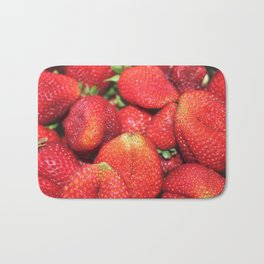 Strawberry Fest Bath Mat