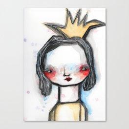 Susie Side-Eye Canvas Print