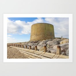 Martello Tower 14 Art Print