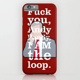 The Thick of It - Malcolm Tucker iPhone Case