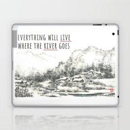 River of Living Water Laptop & iPad Skin