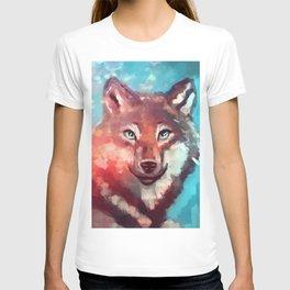 Wolf - Stare - Wanderlust T-shirt